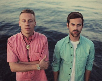 Double winners Macklemore & Ryan Lewis
