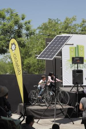 Planeta Madrid - brought to you by sun and pedal power