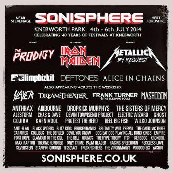 Sonisphere2014
