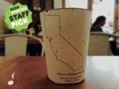 The plantable coffee cup