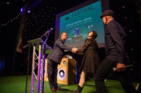 Blissfields pick up their 2015 Award