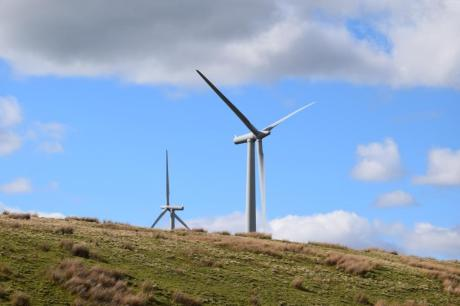 Wind turbine near Kendal by Ben Challis